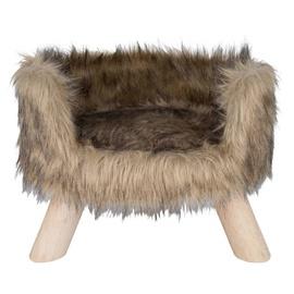 Кровать для животных District 70 Nordic, коричневый, 400 мм x 400 мм