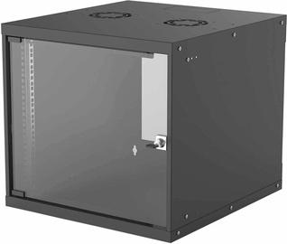 "Серверный шкаф Intellinet 19"" Basic Wallmount Cabinet 9U 560mm Black 714808"
