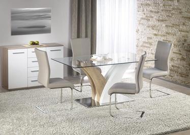 Pusdienu galds Halmar Vilmer White/Sonoma Oak, 1600x900x760 mm