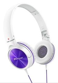 Ausinės Pioneer SE-MJ522-V White/Purple
