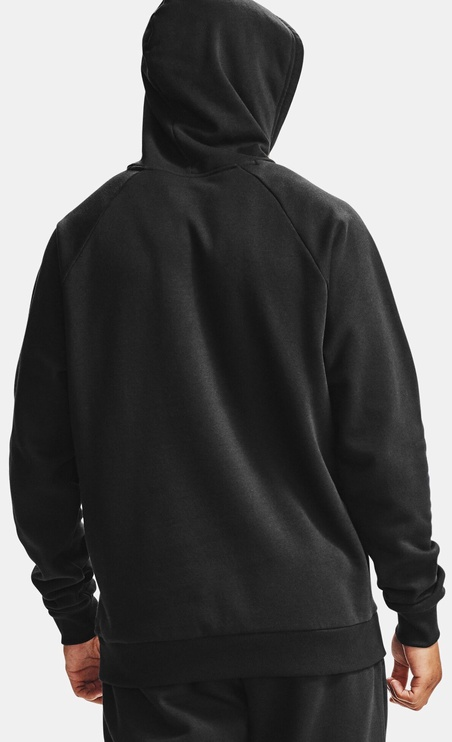 Under Armour Mens Rival Fleece Hoodie 1357092-001 Black L