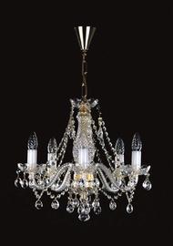 Pakabinamas šviestuvas Artglass Magda V, 5X40W, E14