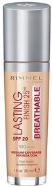 Rimmel London Lasting Finish Breathable Foundation 30ml 100
