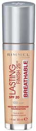 Rimmel London Lasting Finish Breathable Foundation 30ml 100