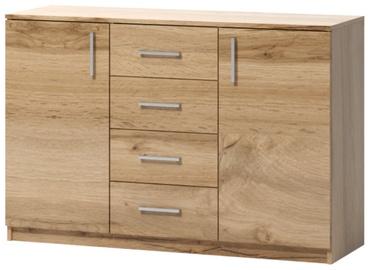 Kumode WIPMEB Tatris 03 Wotan Oak, 120x40x80 cm