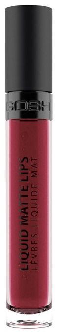 Губная помада Gosh Liquid Matte Lips 09, 4 мл