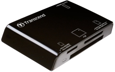 Transcend Multi-Card Reader RDP8 Black