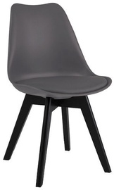 Стул для столовой Signal Meble Kris II Grey/Black, 1 шт.