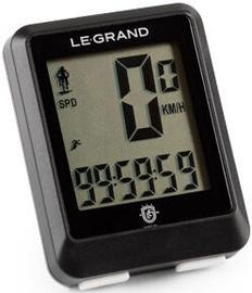 Legrand C11W Bicycle Computer Black
