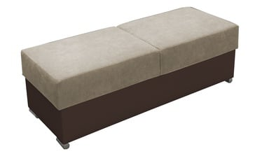 Pufas Idzczak Meble Grand Beige/Brown, 140x53x45 cm