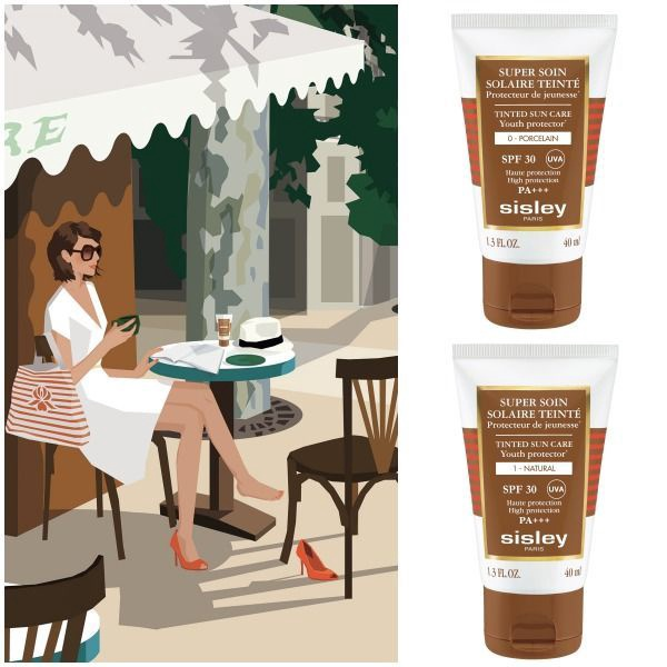 Sisley Super Soin Solaire Tinted Sun Care SPF30 40ml Amber