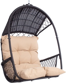 Home4you Tanja Hanging Chair Dark Brown