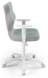 Детский стул Entelo Duo CR05, белый/зеленый, 400 мм x 1045 мм