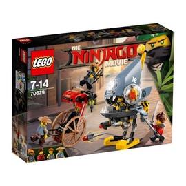 Konstruktorius LEGO Ninjago,  Piranijų puolimas 70629