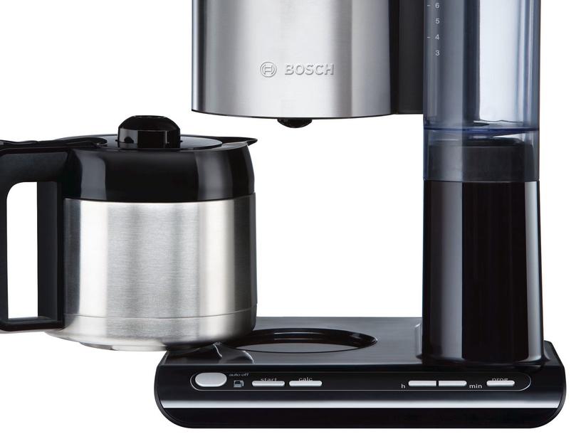 Kavos aparatas Bosch TKA8653 Black/Inox