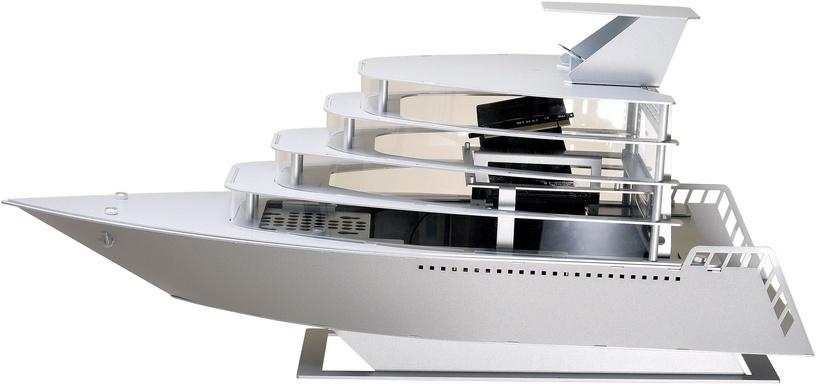 Lian Li PC-Y6A Odyssey Yacht Special Edition Mini-ITX Silver