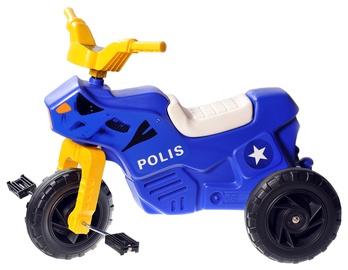 Plasto Policeman Motorcycle 1110P