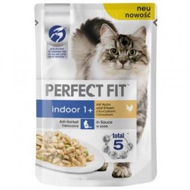 Konservuotas ėdalas katėms Perfect Fit, su lašiša, 85 g