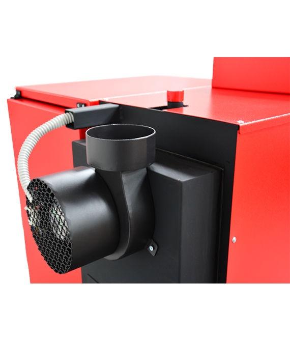 Granulinis šildymo katilas ThermoFLUX Pelling 25 Maxi Right Side