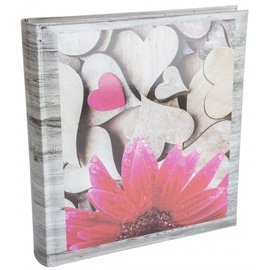 Poldom Assort Photo Album 10x15/600 Flower Hearts