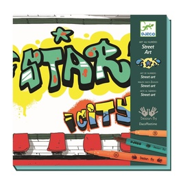 Djeco Stop Felt Tips Street Art DJ08615