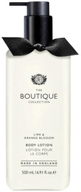 The English Bathing Company Boutique Body Lotion 500ml Lime & Orange Blossom