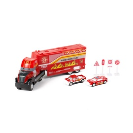 SN Fire Truck Machine With Trucks 513121521 Red