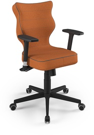 Entelo Nero Black Office Chair FC34 Orange