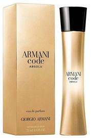 Giorgio Armani Code Femme Absolu 75ml EDP
