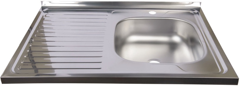 Мойка Diana Kitchen Sink Right Chrome 800x600mm