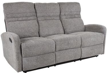 Dīvāns Home4you Sahara 21620 Grey, 185 x 90 x 102 cm