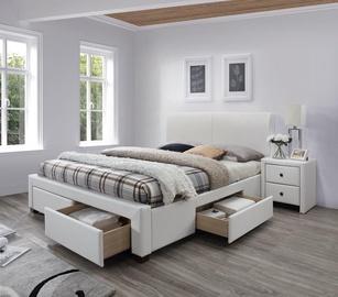 Halmar Bed Modena 2 160x200cm White