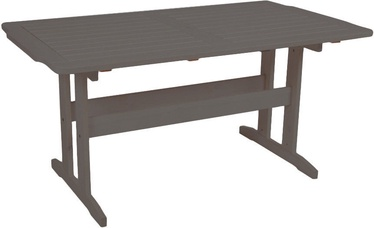 Садовый стол Folkland Timber Lolland Graphite, 150 x 83 x 72.5 см