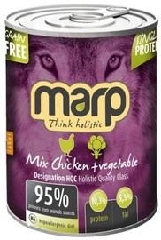 Marp Chicken With Vegetables Holistic 400g