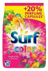 Skalbimo milteliai Surf Tropical Lily & Ylang Ylang, 1.3 kg