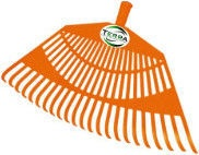 Terra HF-064 Leaf Rake 23T without Handle 540mm