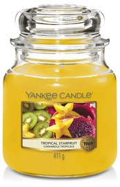 Свеча Yankee Candle Classic Medium Jar Tropical Starfruit 411g