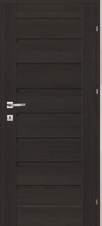 Vidaus durų varčia Classen Grena, antracit ąžuolo, kairinė, 74.4x203.5 cm