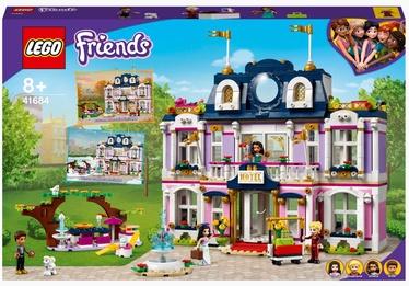 Конструктор LEGO Friends Гранд-отель Хартлейк Сити 41684, 1308 шт.