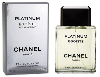 Tualetes ūdens Chanel Egoiste Platinum 100ml EDT