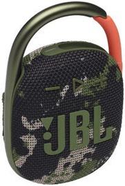 Беспроводной динамик JBL Clip 4, зеленый, 5 Вт