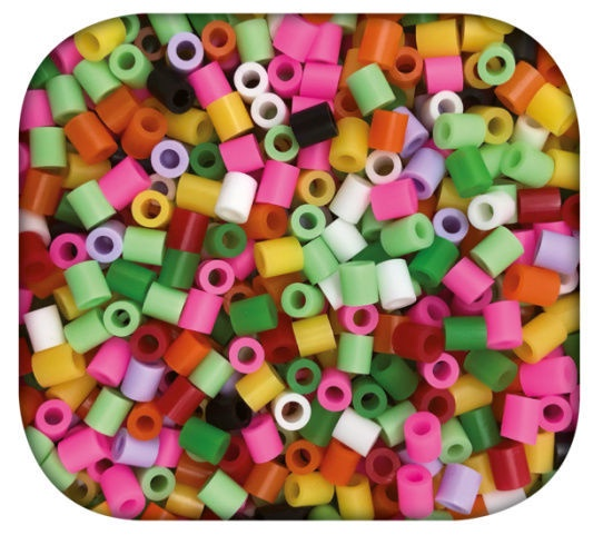 SES Creative Beedz Iron On Beads Kawaii Fruit 06266