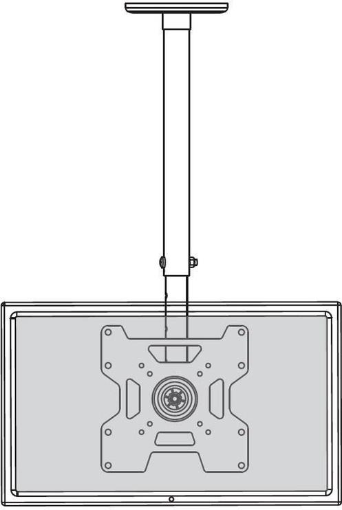 "TV hoidik Techly, 23-37"", 45 kg"