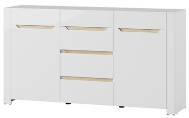Szynaka Meble Chest Of Drawers Ice 10 White