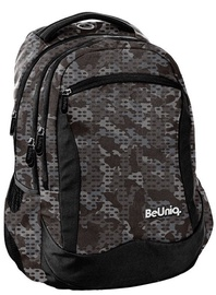 Paso BeUniq Pattern School Backpack w/ Pencil Case Military
