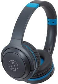 Ausinės Audio-Technica ATH-S200BTGBL Black/Blue