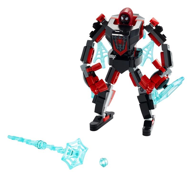 Konstruktor LEGO Super Heroes Marvel Miles Moralese robotirüü 76171, 125 tk