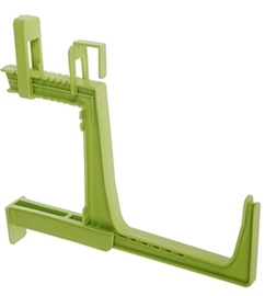 Plastkon Fantazie Window Box Holder Pea Green