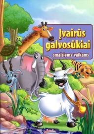 Knyga Įvairūs galvosūkiai smalsiems vaikams