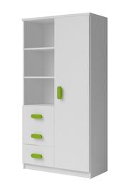 Idzczak Meble Smyk 05 3S1D White/Green